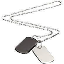 check-out 9de00 23a7e Amazon.it: piastrine militari personalizzate - Ammissibili ...