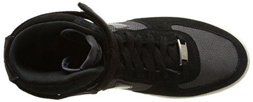 Nike Herren W Af1 Ultra Force Mid mehrfarbig (Black/Black-Dark Grey)
