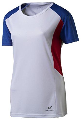 Pro Touch Damen Cup T-Shirt, weiß, 38 -