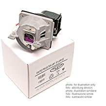 Alda PQ Original, Lámpara de proyector para STEELCASE PJ930 Proyectores, lámpara de marca con PRO-G6s viviendas