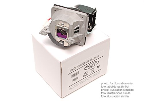 Alda PQ Original, Lampada per proiettore / ricambio adatta per DIGITAL PROJECTION TITAN 800 SX+ Proiettori, lampada di marca con PRO-G6s custodia / alloggiamento