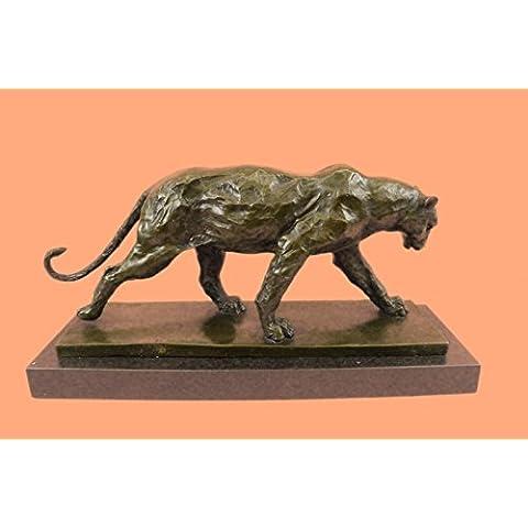 Escultura bronce estatua...Envío gratis...Clásico rugido del león y del león de montaña de Henry Moore(DW-082-EU)Estatuas estatuilla estatuillas desnuda Oficina y Decoración del hogar Coleccionables P
