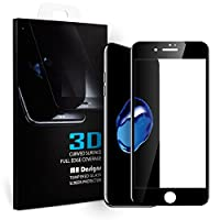 Vestibilità perfettaDimensioni taglio preciso forniscono la massima protezione per il vostro iPhone 7 / iPhone 8 tutta la superficie dello schermo. HD Retina Chiarezza Solo lo 0,25 mm di spessore e con il 99%, elevata trasparenza e bassa rifl...