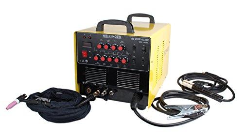 Weldinger WIG-Schweißgerät Inverter WE 200P AC/DC - 5
