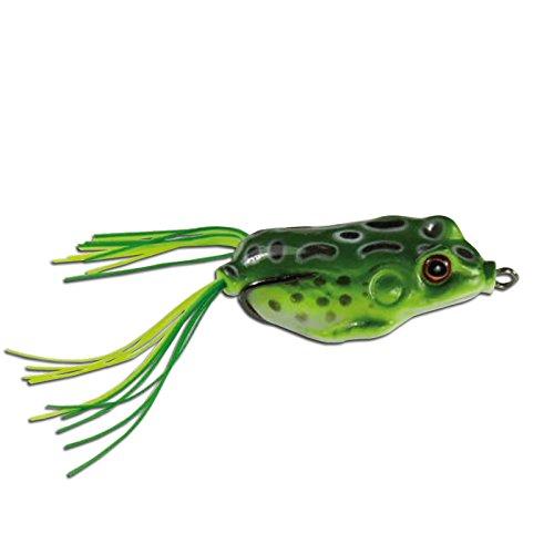 Topwater Frosch grün 14g, 5,5cm Krauthaken