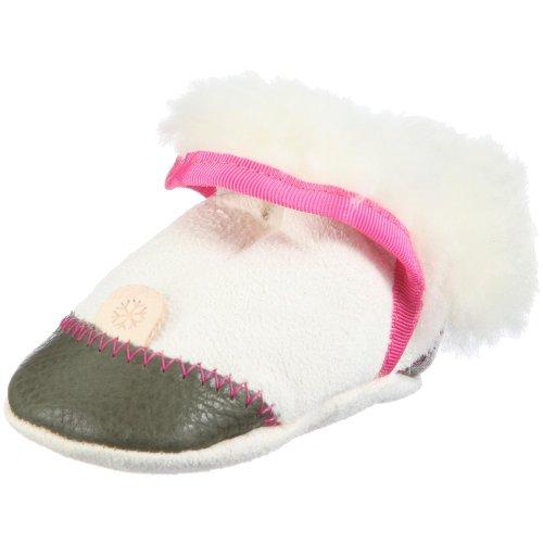 Pololo Sapatos Fofinhos 1-60-114 Menina Chinelos Branco / Branco / Verde-oliva / Rosa