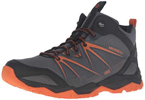 Merrell Capra Rise Mid Waterproof Chaussure Course Trial - AW16 Grey