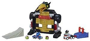 hasbro a9261eu4 angry birds transformers jenga optimus prime attack spiel spielzeug. Black Bedroom Furniture Sets. Home Design Ideas