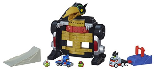 Hasbro A9261EU4 - Angry Birds Transformers Jenga Optimus Prime Attack Spiel