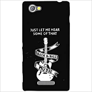 Sony Xperia M Back Cover - Melody Designer Cases