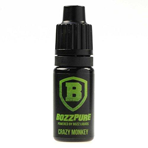 BozzPure Aromakonzentrat Crazy Monkey, zum Mischen mit Basisliquid für e-Liquid, 0.0 mg Nikotin, 10 ml