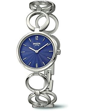 BOCCIA Damen-Armbanduhr Style Analog Quarz 3271-01