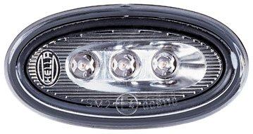 HELLA 2PS 008 138-821 Seitenmarkierungsleuchte, Einbau links/rechts, LED, 12 V, Set (Seitenmarkierungsleuchten-set)