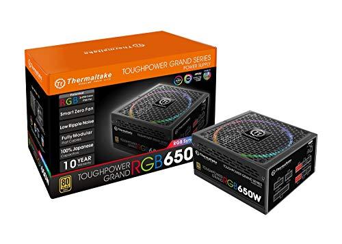 Thermaltake Toughpower Grand 750W RGB Sync Edition PC Netzteil 80Plus Gold zertifiziert (750w Netzteil Led)