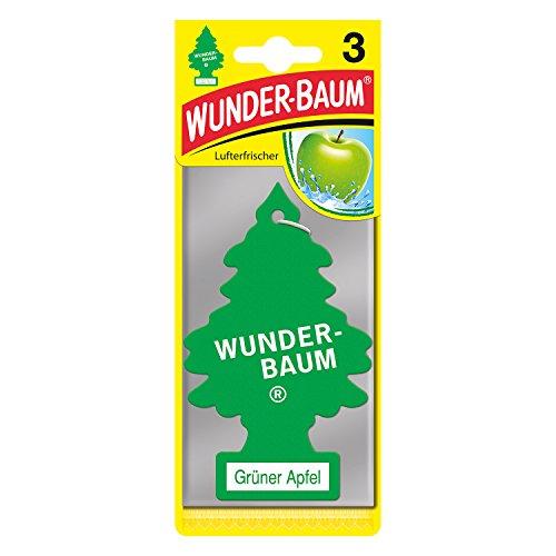 Preisvergleich Produktbild Wunderbaum 171207 Grüner Apfel, 3-er Pack