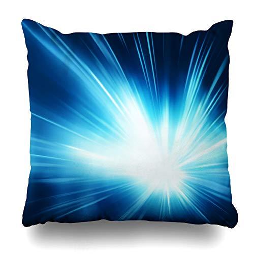 Atoll Licht (Kutita Dekorative Kissenbezüge, 45,7 x 45,7 cm, blaues Aquarium Unterwasserszene Korallenriff-Muster, doppelseitig, dekorativer Kissenbezug für Sofa, Schlafzimmer, Auto 16 x 16 Theme 7)