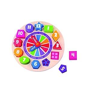 Andreu Toys TK15126Craft Trikes Uhr-Puzzle, leuchtet im Dunkeln, 22x 3cm
