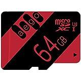 AEGO Ten Years 64 Gb Microsdxc Memory Card + Sd Adapter With App Performance 90Mb/S Class 10,U3(-U3-64Gb)
