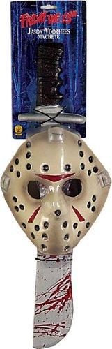 n Voorhees Hockey Maske und Machete ()