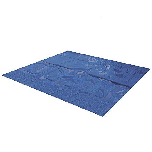 Miganeo® 450x220 cm Premium Solarplane schwarz/blau Poolheizung rechteckig für Pool