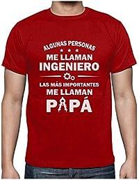 Green Turtle Camiseta para Hombre - Algunos me Llaman Ingeniero - Regalo Original para Papá Ingeniero