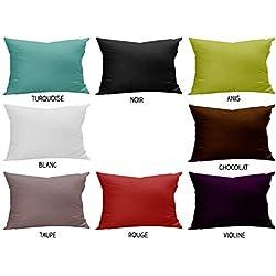 Funda de almohada 50x75 cm ATMO UNI blanca