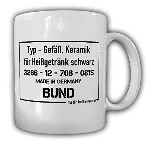 wenyige8216 VS-NfD Nur für den Dienstgebrauch Verschlusssache Geheim Geheimhaltung Schutzstufe Vertraulich Bundeswehr Militär Gefäß Keramik Heißgetränk Humor BW Bund Kaffee Becher - Tasse #19323