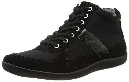 Calvin Klein Proctor, Baskets mode homme Noir (Blg)