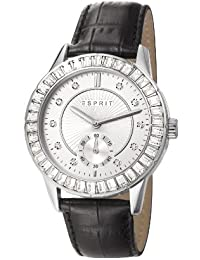 Seren Women'Esprit Herren-Armbanduhr 1725.1562 Analog-Anzeige und schwarzem Lederarmband ES107422001