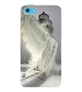 ColourCraft Quote with Image Design Back Case Cover for APPLE IPHONE 5C