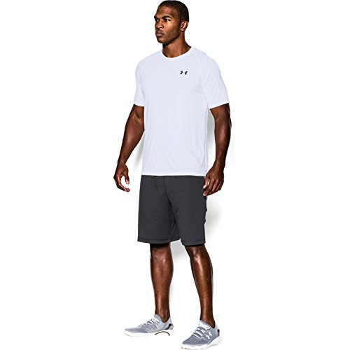 Under Armour Herren Fitness T-Shirt UA Tech Tee Weiss (White)
