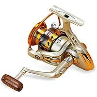 EF1000-9000 12BB Spinning Metal Grande Fly Wheel Pesca en mar de Agua Salada Carrete Pesca Spinning Regard