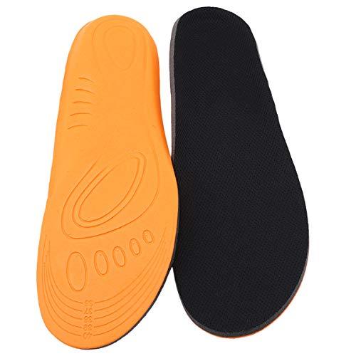 Orthopädische Unterstützung Kissen (Winwinfly Sport Orthopädische Einlegesohlen Unterstützung Atmungsaktive Stoßdämpfung Kissen Schuhe Pads für Frau Männer,L)