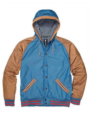 Billabong Veste à capuche pour homme blau/braun