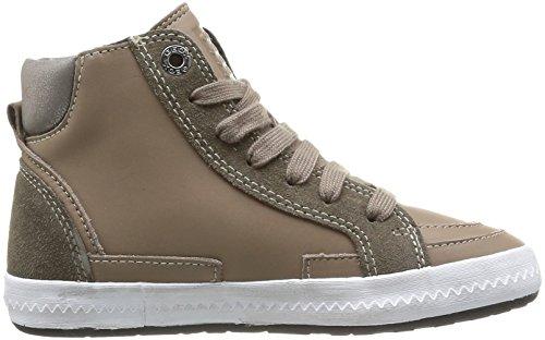Geox Jr Witty Mädchen Sneaker Beige (Beige (Dk Beige))