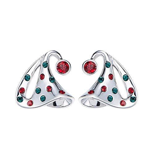 ZWB Schmuck Ohrringe Ohrstecker Mit Kristallen Baumeln Ohrringe Frauen Ohrring Hut Elegante Strass Schmuck Mädchen Zubehör Einzigartige Party -