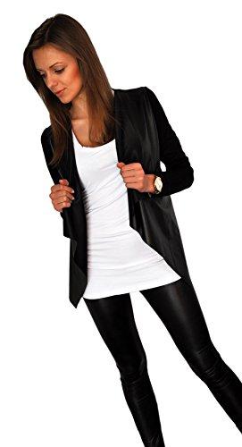 giacca-da-donna-sportiva-cardigan-streetwear-sexy-look-pelle-sintetica-192-40-s