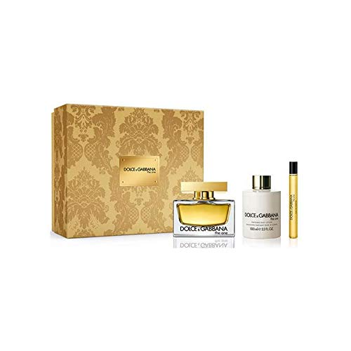 DOLCE & GABBANA THE ONE EDP 75 ML + BODY LOTION 100ML + EDP 10ML SET REGALO