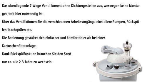Intex Sandfilteranlage Speed Clean Comfort 75, miganeo grau - 8