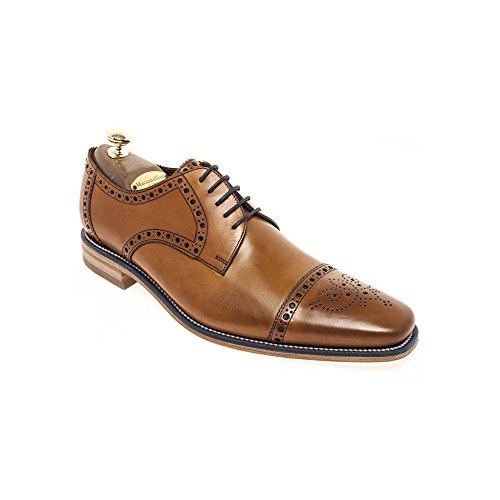 loake-foley-mens-formal-lace-up-shoes-8-tan-burnished