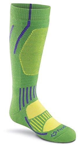 Fox River Kids Boreal Over-The-Calf Medium Gewicht Socken, Unisex, Kiwi -
