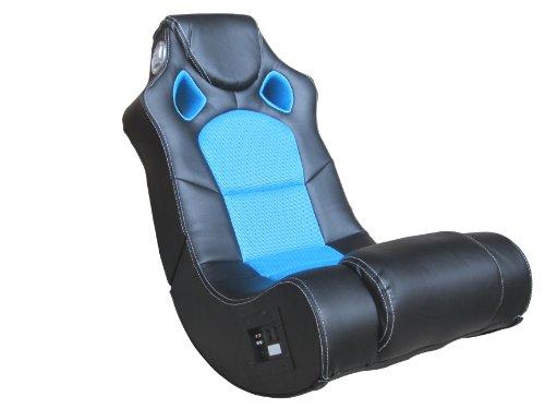 Avanti Trendstore 2052,148,1 Soundsessel Multimedia mit Stereo 2.1 Soundsystem, schwarz / blau