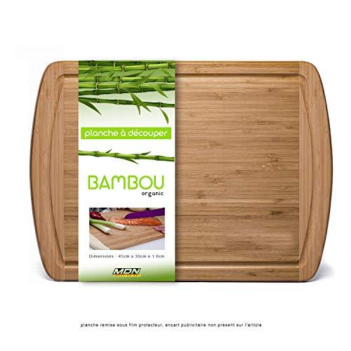 Mustdunet Planche à découper Extra-Large en Bambou...