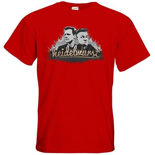 getshirts - Heidelwurst - T-Shirt - Heidelwurst Red