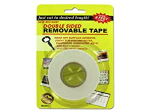 Double-sided removable tape