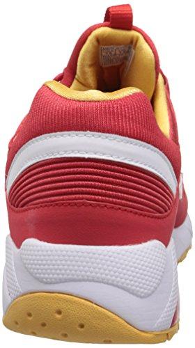 Saucony Originals - Saucony Grid 9000, Sneakers da uomo Rosso (Rot (red / white))