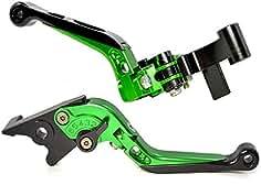 Palanca de embrague de freno extensible ajustable de alta calidad para Kawasaki Z800 / E versión