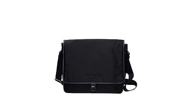 96721d75e577 NEW PRADA BAG V158 064 F0002 NYLON BLACK Shoulder Bag/Messenger Bag: Amazon. co.uk: Shoes & Bags