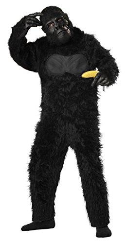 Generique - Gorilla Kostüm für Kinder 128/140 (8-10 Jahre)