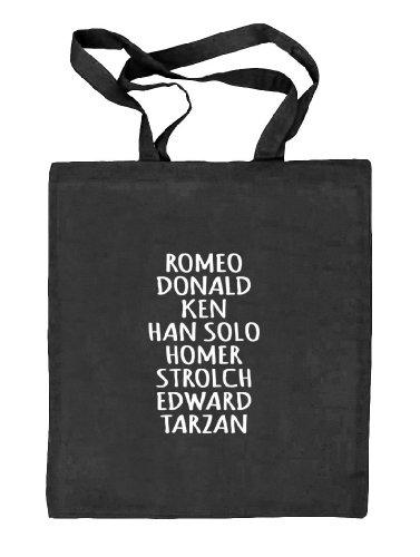 Shirtstreet24, Valentinstag - Love Couple Man, Kombi Natur Stoffbeutel Jute Tasche (ONE SIZE) schwarz natur